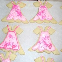 Prom Cookies I had to coordinate my cookies and my daughters prom dress!