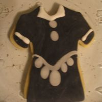 Fondant Dress Fondant wasn't as 'easy' as I thought it would be!
