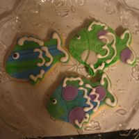 Fondant Fish First time using Fondant.