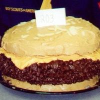 Cheeseburger this was a cake for a father/ son cake contest. we took first in our age group!