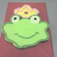 Frog Prince Cupcake Cake I kind of threw this together for my husband for valentine's day. He wanted cupcakes for work and my friend had given me some adorable...