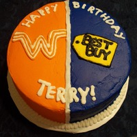 Bestbuy/whataburger His two favorite things...all buttercream