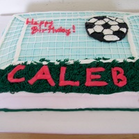 Soccer Net For my nephew's b-day - inspired by other ccr's work.