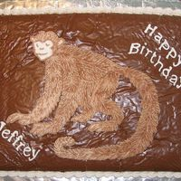 Monkey Fur I made this cake for my 11-year old nephew who is crazy about lemurs. The monkey is buttercream with multi-colored fur. It took hours to...