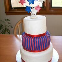 Patriotic 3 Tier MMF. Done for Patriotic Pageant this weekend!