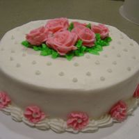 Rose Cake Same one we all did!