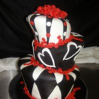 Black & Red Whimsy