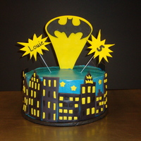 Batman - Sugar Free This was for a 5 year boy who wanted batman. Everything had to be sugar free so the icing was hard to work with. Since it wouldn't...