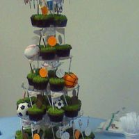 Sports Theme Vbs Cupcakes And Football