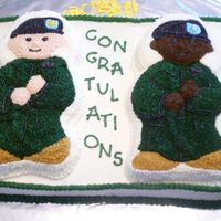 Promotion Cake I made this cake for my husband's promotion ceremony. He was being promoted to major and a good friend and co-worker was being...