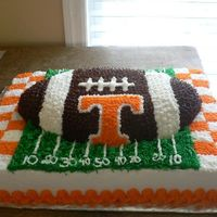 Ut Football I made this cake for my husband for father's day...he is a UT grad and a HUGE UT football fan so I made him this cake and gave it to...