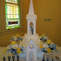 Cathedral Wedding Cake View 1