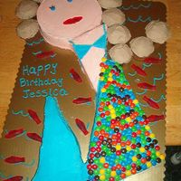Mermaid Cake  The customer brought me a picture of this cake, and it is HUGE- I have to make it fit on full sheet cake board. The scales are M&M&#039...