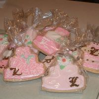 More Cookies From Julie's Wedding I made 250 of these (most of them personalized). The tags (visible on other photo sorry) is a chocolate coloured boot with the explanation...