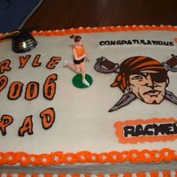 Ryle High School Grad Cake I did this for a co-worker's daughter last spring 2006