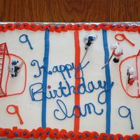 Hockey Cake For Son's Birthday 2005