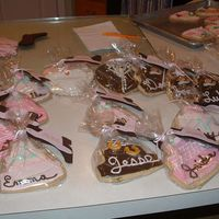 Julie & Garrett's Wedding Cookies Sept 2006