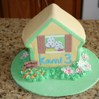 Max And Ruby's House Cake. I made this cake for my son's 3rd Birthday. He loves Max and Ruby.