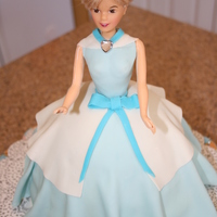 Cinderella Princess Cake This was a Cinderella/Princess cake for a friend's little girl.