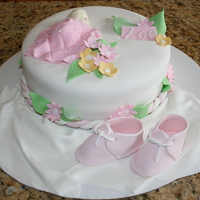 Girl Baby Shower Cakes