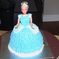 Cinderella   All buttercream icing.