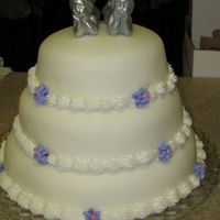 3 Tiered Anniversay Cake