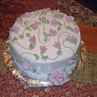 "Oh Sweet Pea! My beautiful daughter made this beautiful sweet pea cake for her ""graduation"" project. We took the level 1 class together and had..."