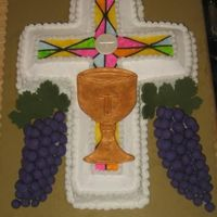 Communion2 same as the other only with fondant details painted with Aztec gold luster dust and super pearl dust