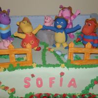The Backyardigans Cake
