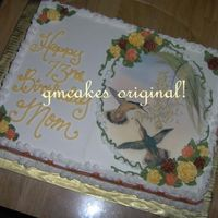Hummingbirds Edible Image