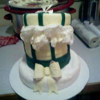 Edit_Hatbox.jpg BIRTHDAY CAKE FOR CLIENT. SORRY IF BLURRY, PHOTO TAKEN WITH CELL PHONE.
