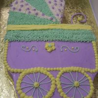 Baby Carriage Cake cute baby carriage!