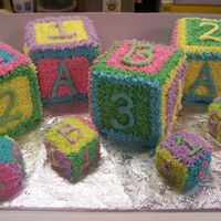 Baby Blocks Baby blocks for a baby shower or birthday