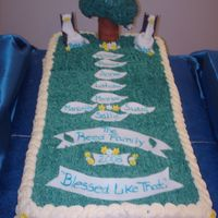 Family Reunion This cake was done for a DF's family reunion. The rocking chairs had the name of the 1st generation parents, followed by the next...