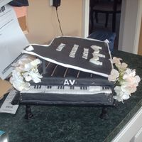 Music Lover I did this cake for a special person who happens to be the choir director at my church. I had fun doing this but realized some areas I need...