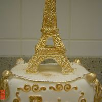 Eiffle Tower(Basic Cake Decorating Class)   Royal icing Tower
