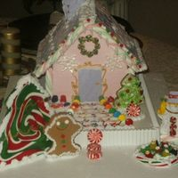 Baby 1St Christmas Gingerbread House