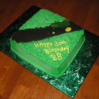 Bb's Cake This was a 30th birthday cake for one of my best friends, Brian. He has a weird obsession for john deere so this is what I made for him. It...