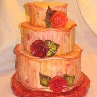 Roses An idea for a wedding cake! Everything is MMF!