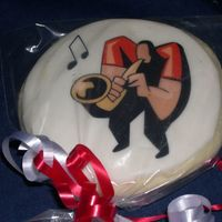 Band Concert Cookie Sugar cookie with mmf and edible image