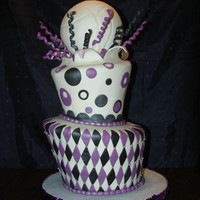 Soccor Cake Birthday cake for a volleyball player