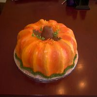 Pumpkin This was the pumpkin cake recipe from this site with cream cheese icing. Yummy! I kept telling people it was a pumpkin cake and they were...