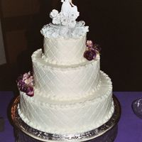 Wedding This was my second wedding cake. I was fairly pleased with it.