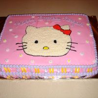 Hello Kitty Sheet Cake