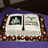 Groom's Cake This is a bigger pic of the one I tried to attach earlier.