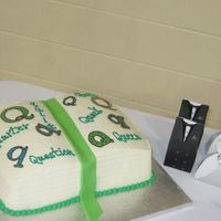 Q And U Grooms Cake