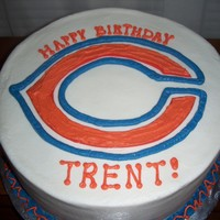 Chicago Bears Buttercream WASC