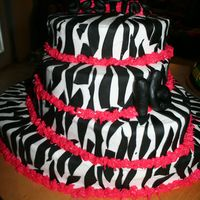 Another Zebra Cake Another very popular cake. Zebra cakes!