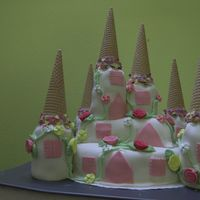 Castle Cake This is my very first 3D Cake. The pictures on this site helped to implement my idea and were a great source of inspiration. I learned al...