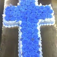 Cross Cake The is a cake I did for a religious event I have never done a cross cake before but it was actually one of my best! Im very proud of it. It...